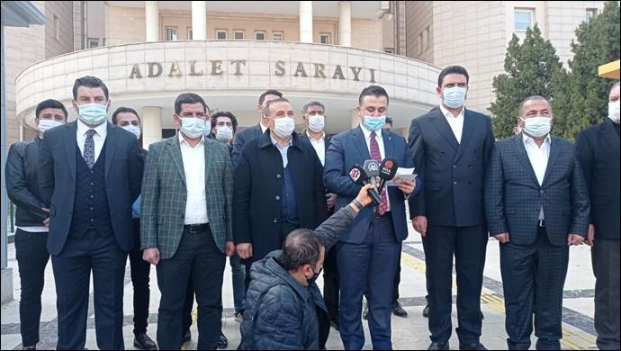Urfa AK Parti'den 3 isim hakkında suç duyurusu