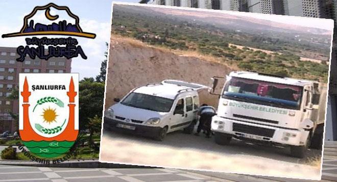 Urfa Büyükşehir Belediyesi: Her iki araç, belediyemizle alakası bulunmamaktadır
