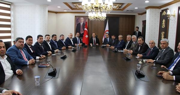 Urfa Cumhurbaşkanı Erdoğan'ı Karşılamaya Hazırlanıyor