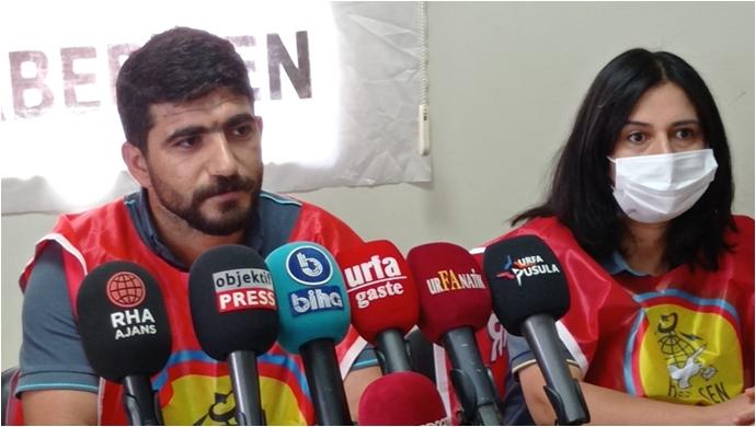 Urfa HABER-SEN: PTT'de zararın bedelini emekçiler değil yolsuzluk yapanlar ödesin-(VİDEO)