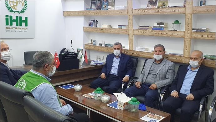 Urfa İHH'nın, Filistin'e Yardım Çağrısına Başkan Beyazgül'den Destek