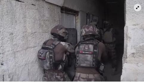 Urfa polisinden 16 mahallede operasyon: Neler yakalandı neler!-(VİDEO)