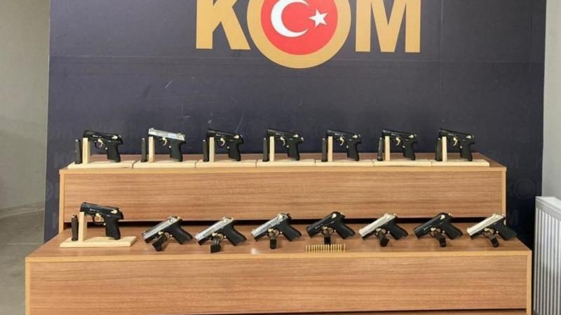 Urfa polisinden silah kaçakçılığı operasyonu: 2 kişi tutuklandı