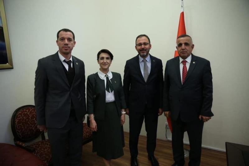 Urfa vekilleri, Gençlik ve Spor Bakanıyla bir araya geldi