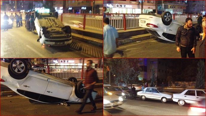 Urfa'da 2 Ayrı trafik kazası:1 yaralı