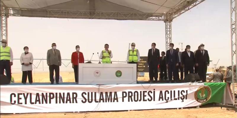 Urfa'da 70 milyonluk projenin açılışı Bakan Pakdemirli'nin katılımlarıyla yapıldı