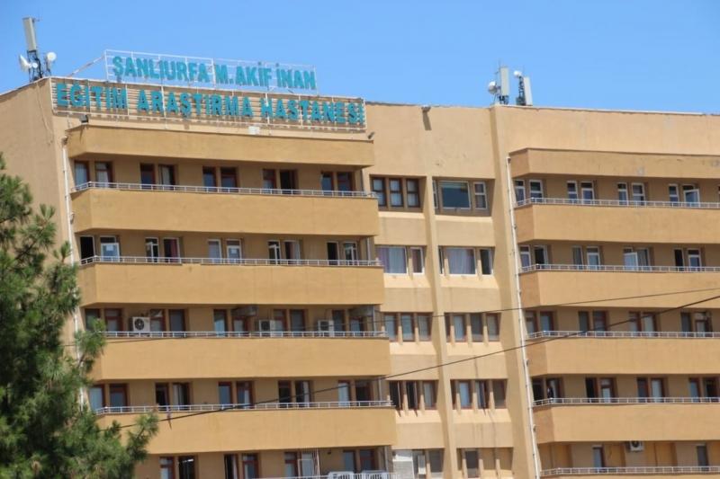 Urfa'da başhekim ve yardımcısı koronavirüse yakalandı