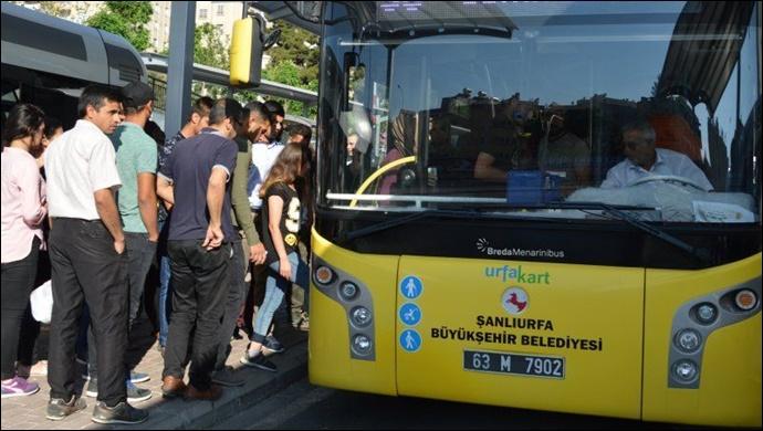 Urfa'da bayramda otobüs saatleri değişti! İşte yeni saatleri