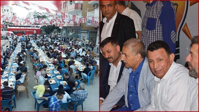 Urfa'da Bir İlk,MHP'li Özyavuz ile Ak Partili Başkan Seçim Bürosunda Buluştu