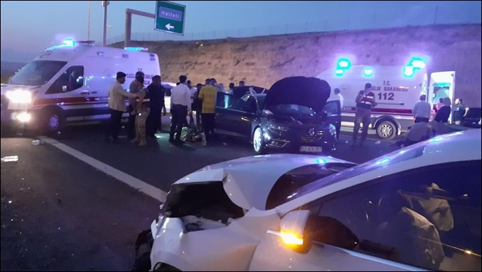 Urfa'da Feci kaza:Çok sayıda yaralı var