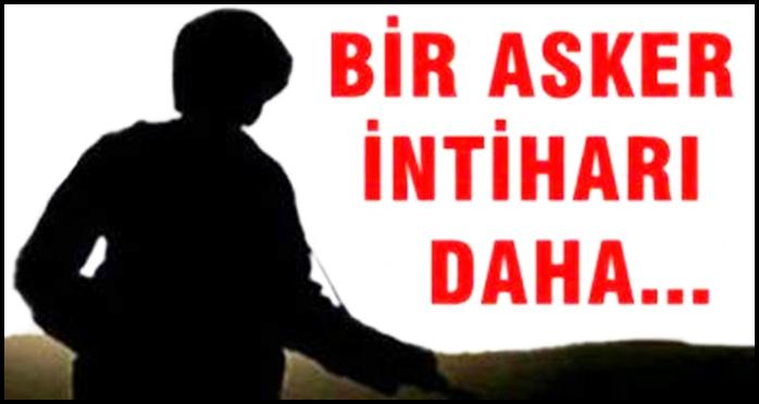 Urfa'da feci olay … Bir asker intihar etti