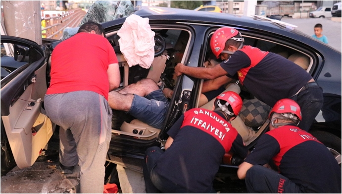 Urfa'da Kazada Yaralanan Astsubay Hayatını Kaybetti