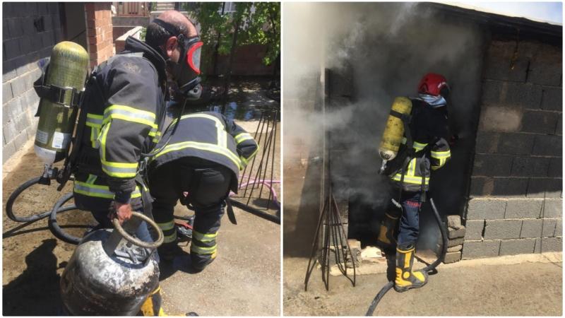 Urfa'da Mesken Yangını: İtfaiye Müdahale etti