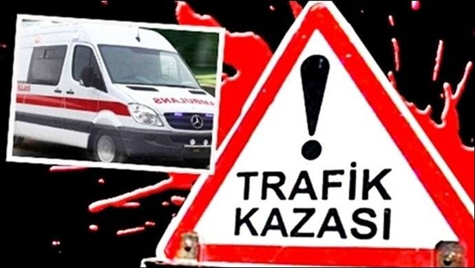 Urfa'da Otomobil kamyonla çarpıştı: 4 yaralı
