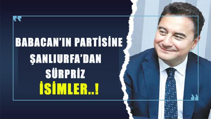 Urfa'da Saadet Partili meclis üyeleri de Babacan'ın partisine geçecek mi?