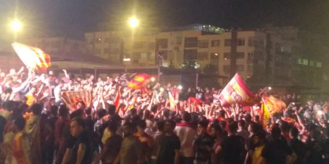 Urfa'da Şampiyonluk Kutlaması