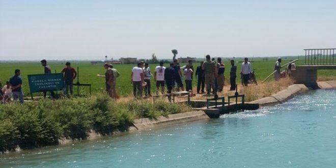 Urfa'da sulama kanalında ceset bulundu