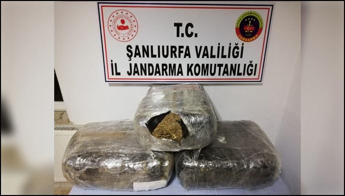 Urfa'da Uyuşturucu Operasyonu: 3 tutuklama