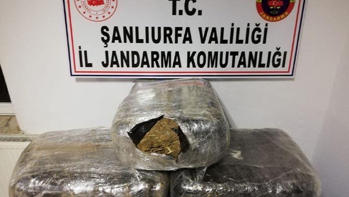 Urfa'da uyuşturucu tacirlerine operasyon:Çok sayıda gözaltı