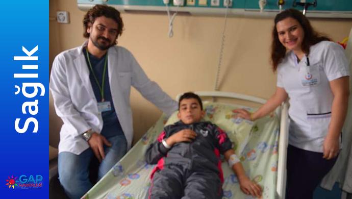 Urfa'da ve Türkiye kapalı yapılan ilk Ameliyat