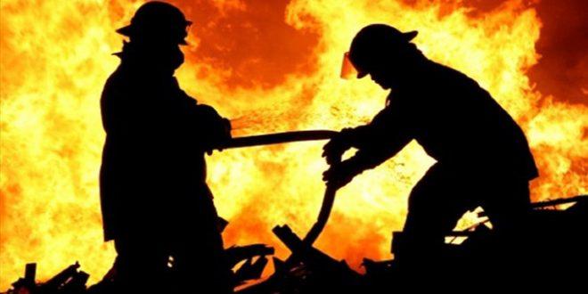 Urfa'da yangın evi küllere çevirdi