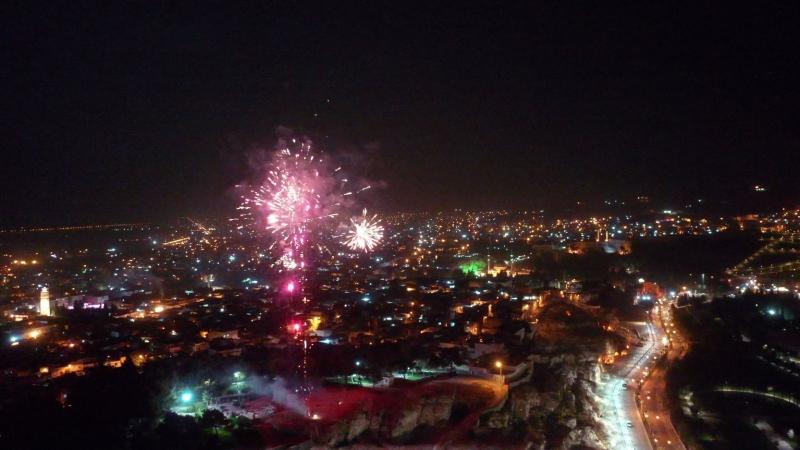 Urfa'da29 Ekim Havai Fişek Gösterisi