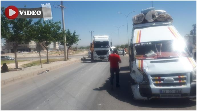 Urfa'dan mevsimlik iş için yola çıktılar! Yolda kaza yaptılar