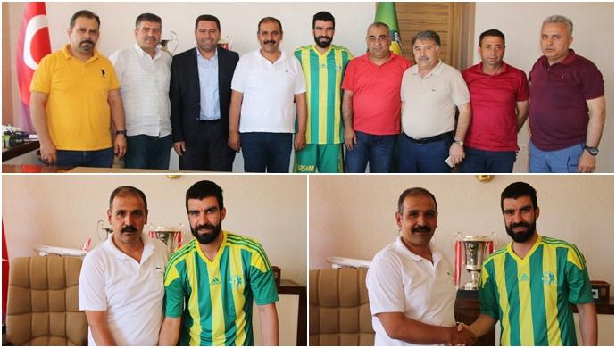Urfaspor İç Transferde Fevzi Özkan ile Yeniden Anlaştı