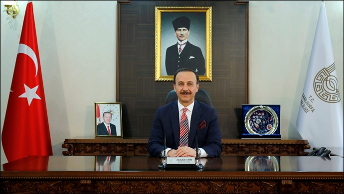 Vali Abdullah Erin'in 10 Nisan Türk Polis Teşkilatının Kuruluş Yıl Dönümü Mesajı