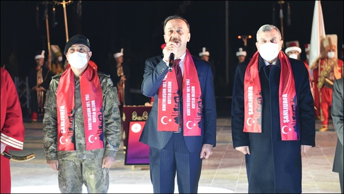 Vali Erin: Türk Milleti İnsanlığın Umududur-(VİDEO)