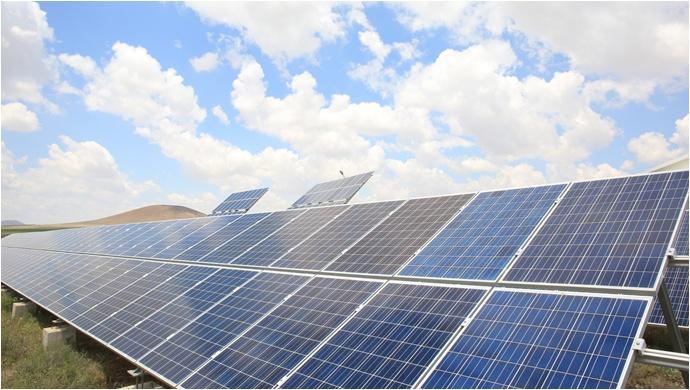 Van güneş santrallerinde elektrik üretimi başladı