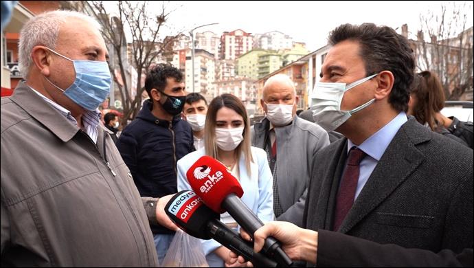Vatandaş ali babacan'a dert yandı: 'Artık nefes alamıyoruz'
