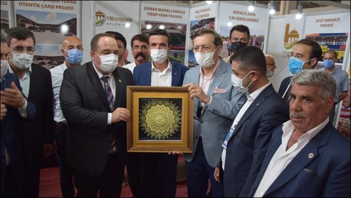 Viranşehir Belediyesi Bölgesel Kalkınma Fuarında Projelerini Tanıttı
