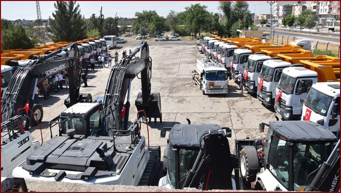 Viranşehir Belediyesi hizmet seferberliği başlattı