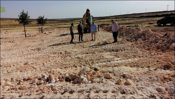 Viranşehir Kırsal Mahallelerinde üst yapı çalışmaları devam ediyor