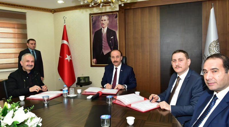 Viranşehir Osb'de İmzalar Atıldı