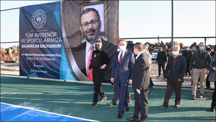 Viranşehir Sarıbal Köyü Spor Tesislerine Kavuştu-(VİDEO)