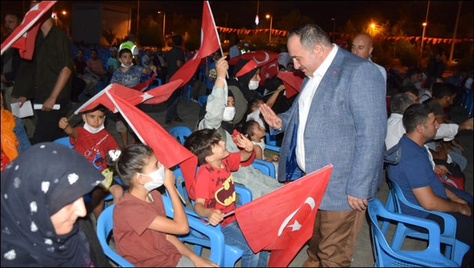 Viranşehir'de 15 Temmuz Demokrasi Ve Milli Birlik Günü Coşkuyla Kutlandı
