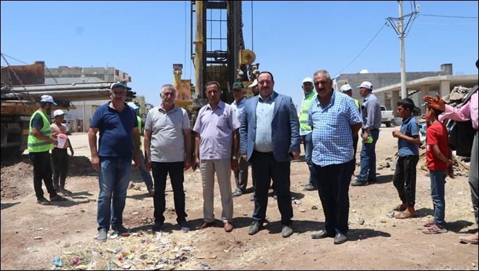 Viranşehir'de 3 mahalle'nin Su Sorunu Kalıcı Olarak Çözüldü-(VİDEO)