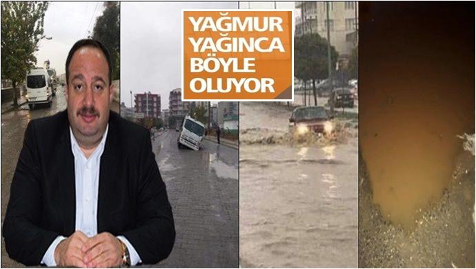Viranşehir'de Cadde Çöktü Esnaf Belediye'ye Ateş Püskürdü