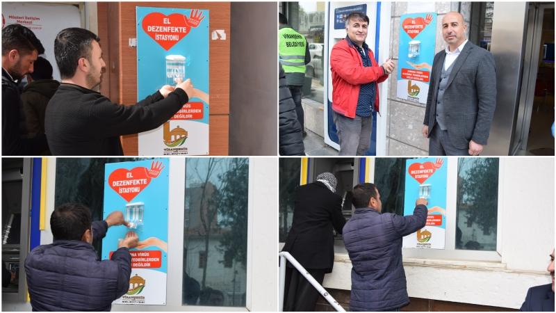 Viranşehir'de Dezenfekte Çalışmaları Sıklaştırıldı