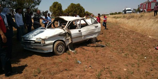 Viranşehir'de kaza: Yaralılar var