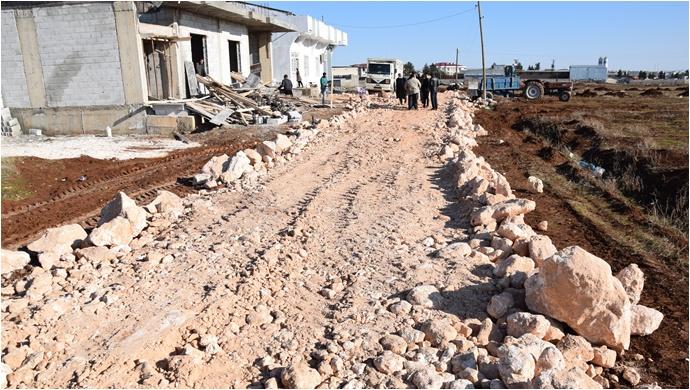 Viranşehir'de Üst Yapı Çalışmaları Devam Ediyor
