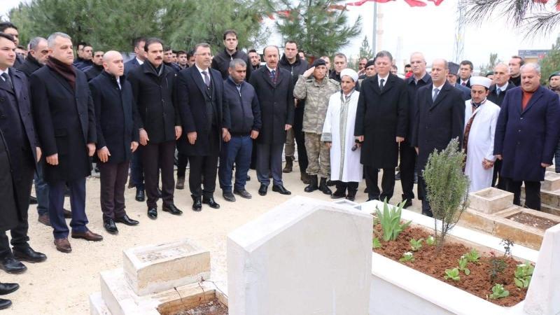 Viranşehir'deki Bombalı Saldırı Şehitleri Anıldı
