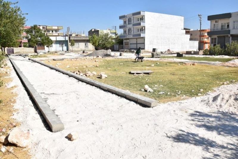 Viranşehir'e yeni bir park daha kazandırılıyor