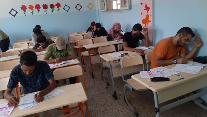 Yabancı Öğrenci Sınavı (YÖS) Resulayn ve Telabyad'da yapıldı