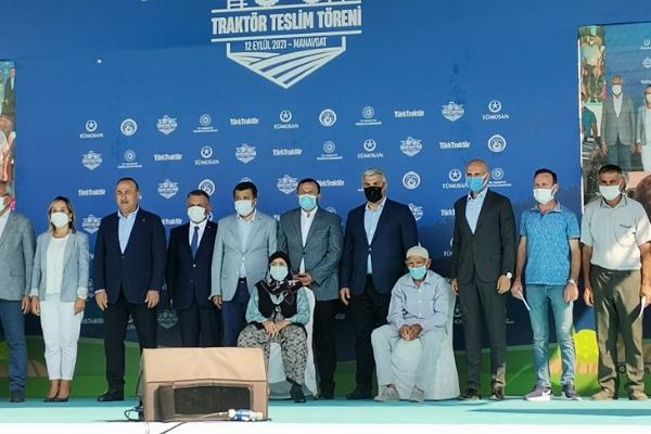 Yangınlarda zarar gören çiftçilere TürkTraktör'den destek
