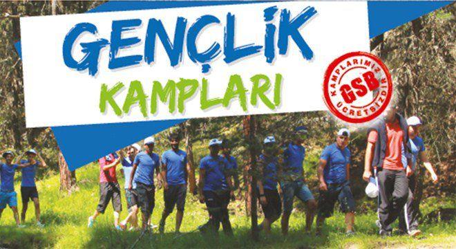 Yaz Gençlik Kampları Başvuruları Başladı