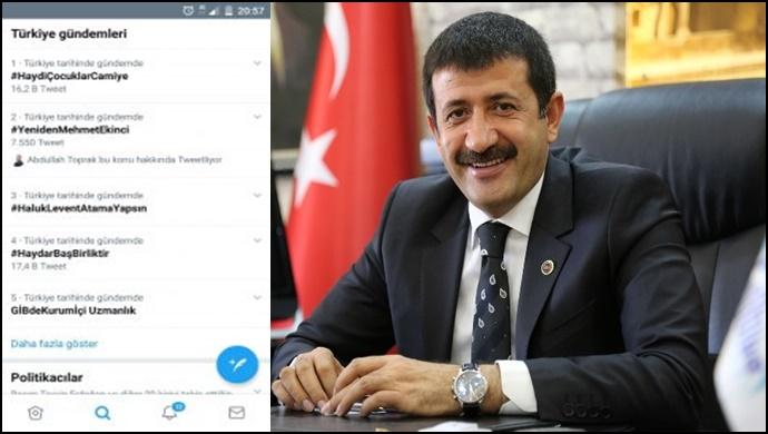 """""""Yeniden Mehmet Ekinci"""" TT oldu"""