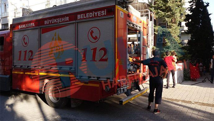 Yenişehir Mahallesi'nde apartmanda yangın!